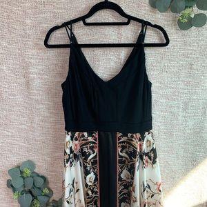 [White House Black Market] Midi Handkerchief Dress